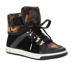 Michael Kors GREENWICH High Top Sneakers 7.5, 8.5